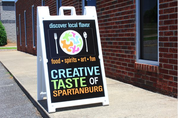A Frame Signs Spartan Graphics